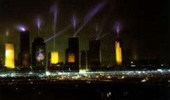Houston sous les lumières de Jarre